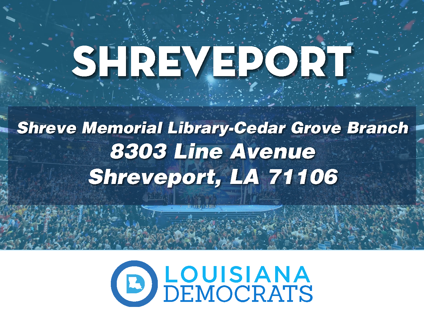 polling locations-Shreveport